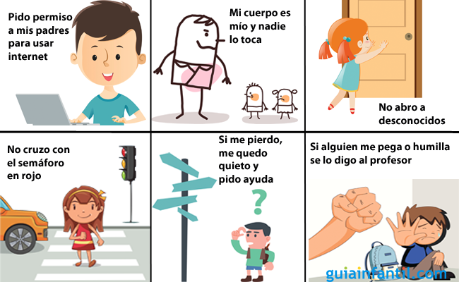Las Normas De Seguridad Que Debes Ensenar A Tu Hijo Reglas De Seguridad Para Ninos Reglas De Seguridad Ensenar A Los Ninos