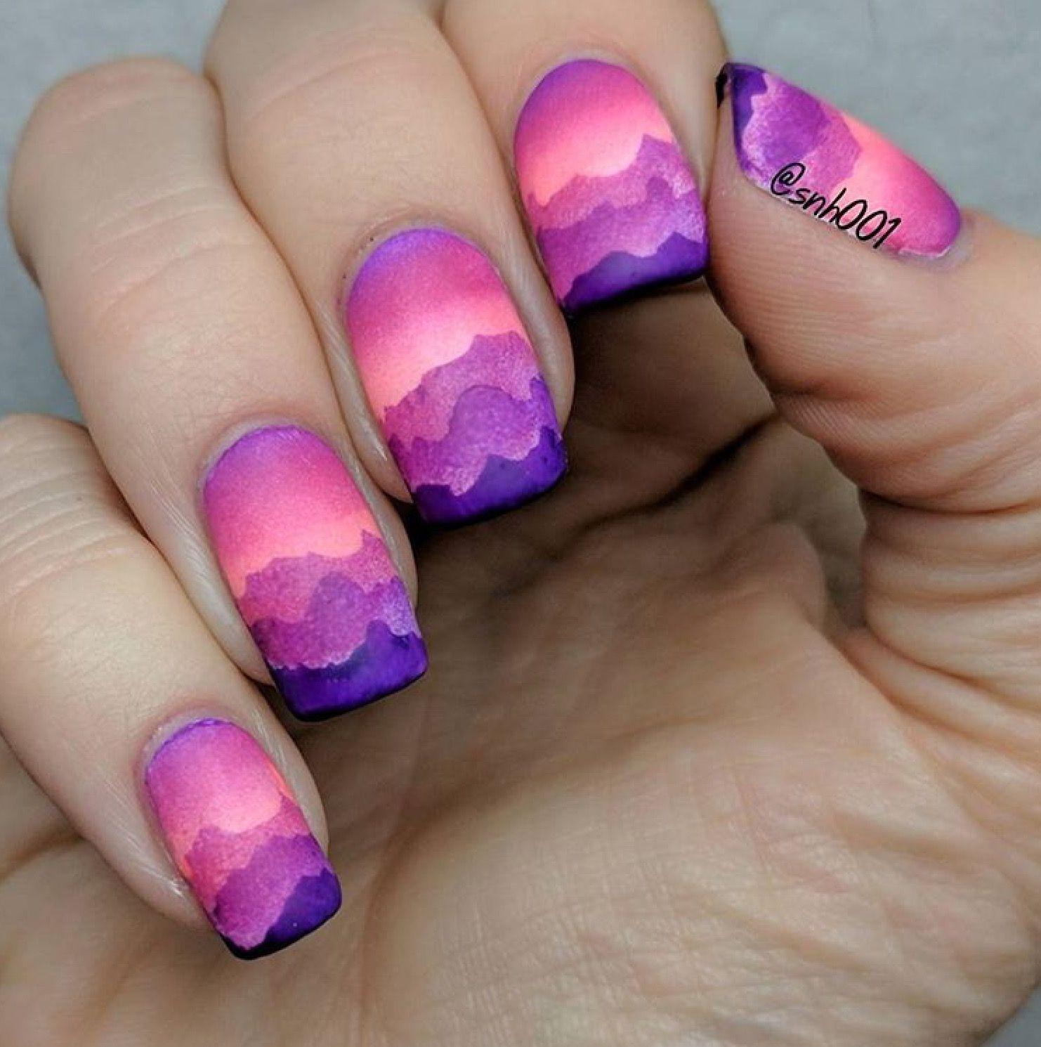 sunset + flirt + violet femme