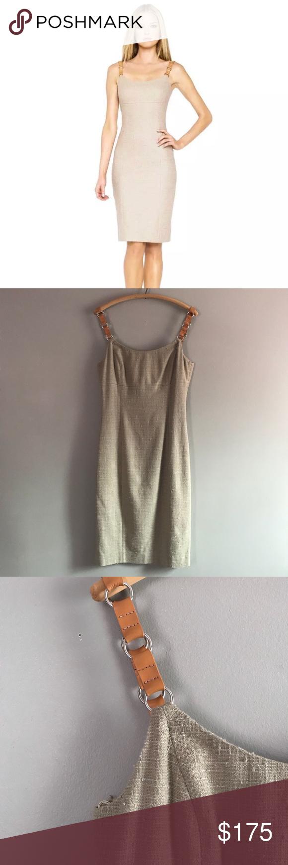 Michael Kors Collection Italy Linen Blend Dress   Michael ...