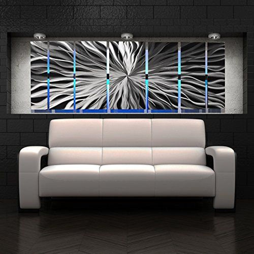 Modern Abstract Metal Wall Art Large Metal Art Panels