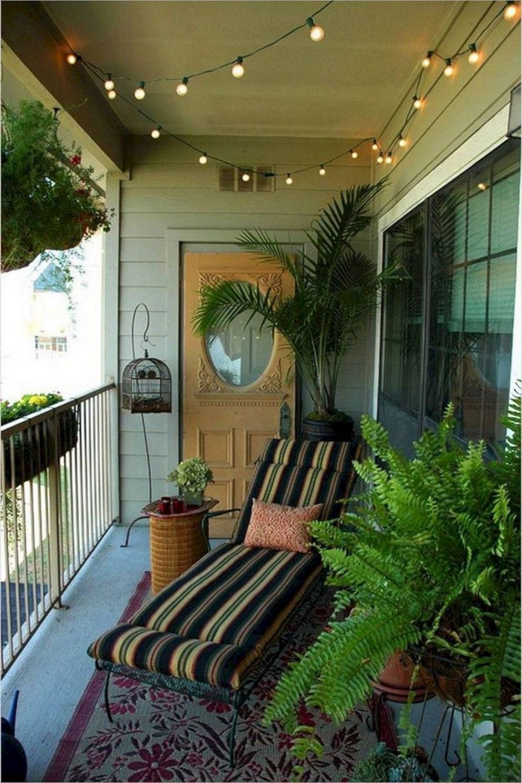 Small Balcony Ideas in 2020 | Small apartment patio ...