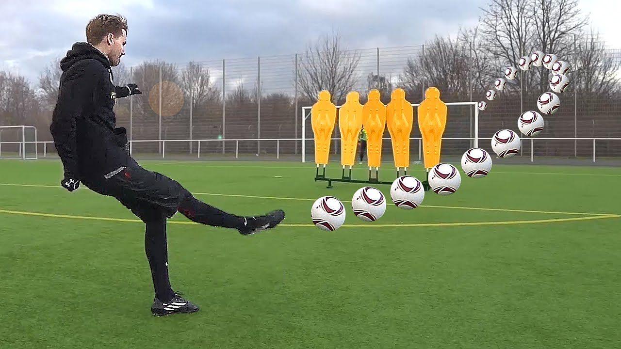 How To Shoot Like Calhanoglu & Pjanic Curve Free Kick