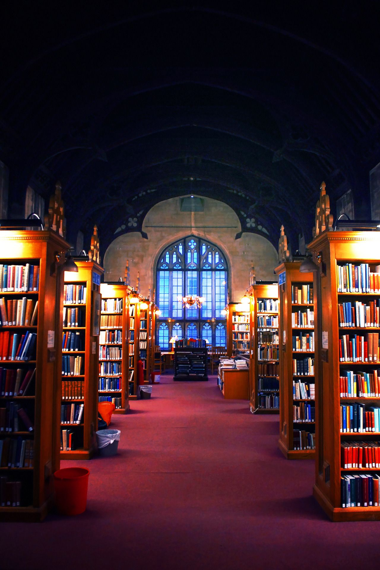 Magdalen College Library, Oxford.