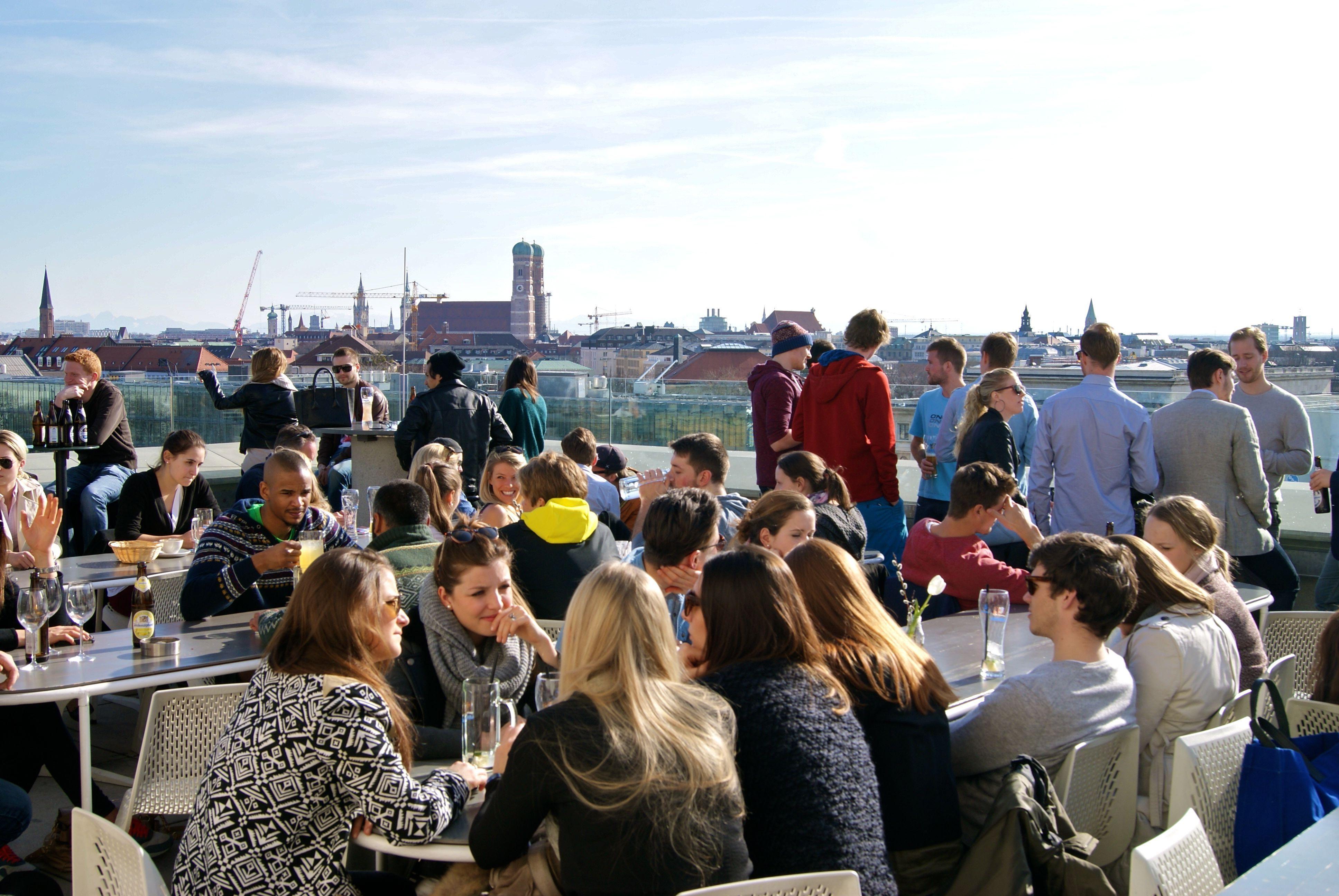 Vorhoelzer Forum Munich Tum Rooftop Bar Time 45 Minutes