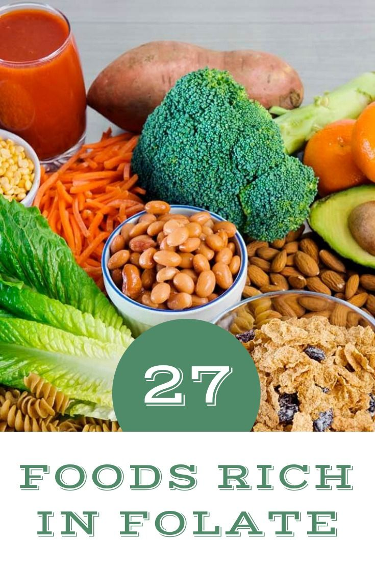 27 Foods Rich In Folate for Pregnant Women (With images