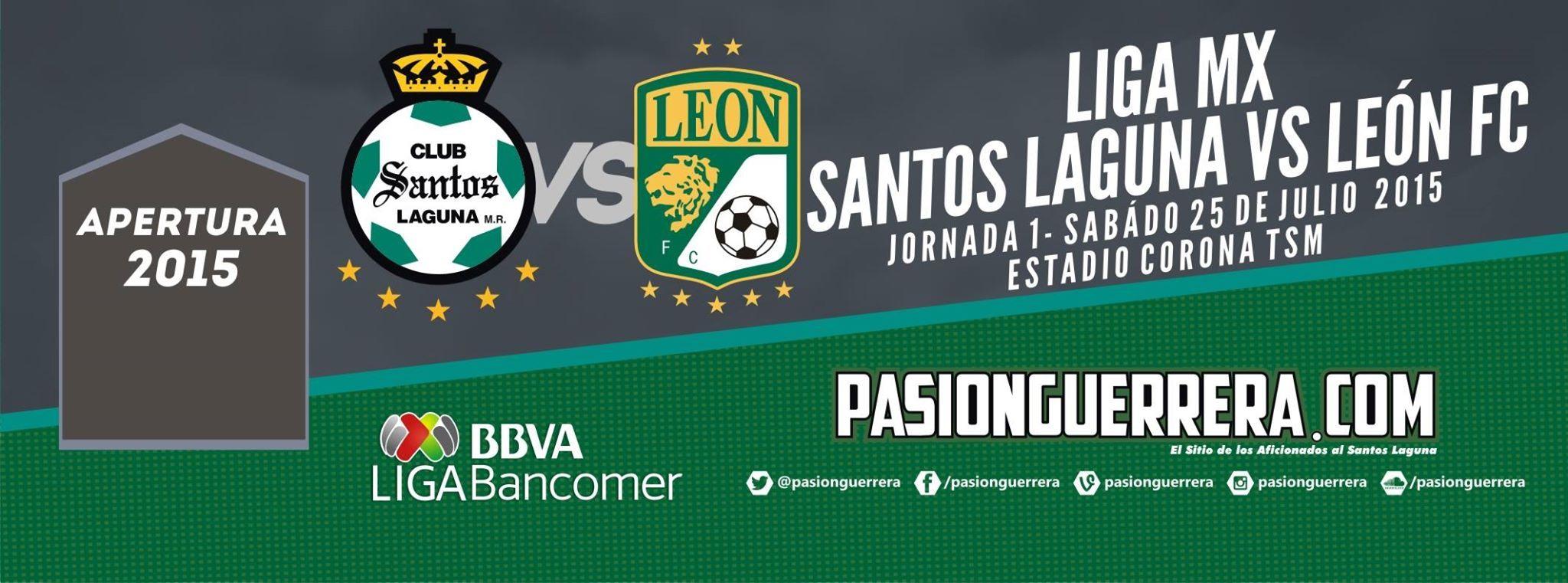 Temporada 2015-2016 / Torneo Apertura / Jornada 1 / Sábado, 25 de Julio de 2015