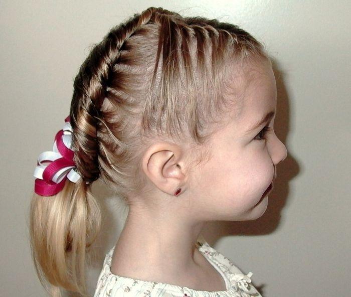 Coiffure petite fille – Des idées pour votre petite princesse ...
