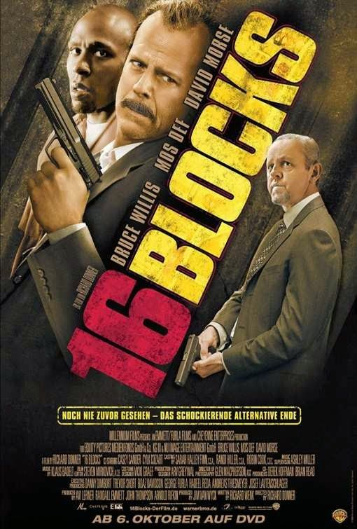 16 Blocks 2006 Dual Audio Hindi Dubbed Movie Free Download Movies Action Movies English Movies