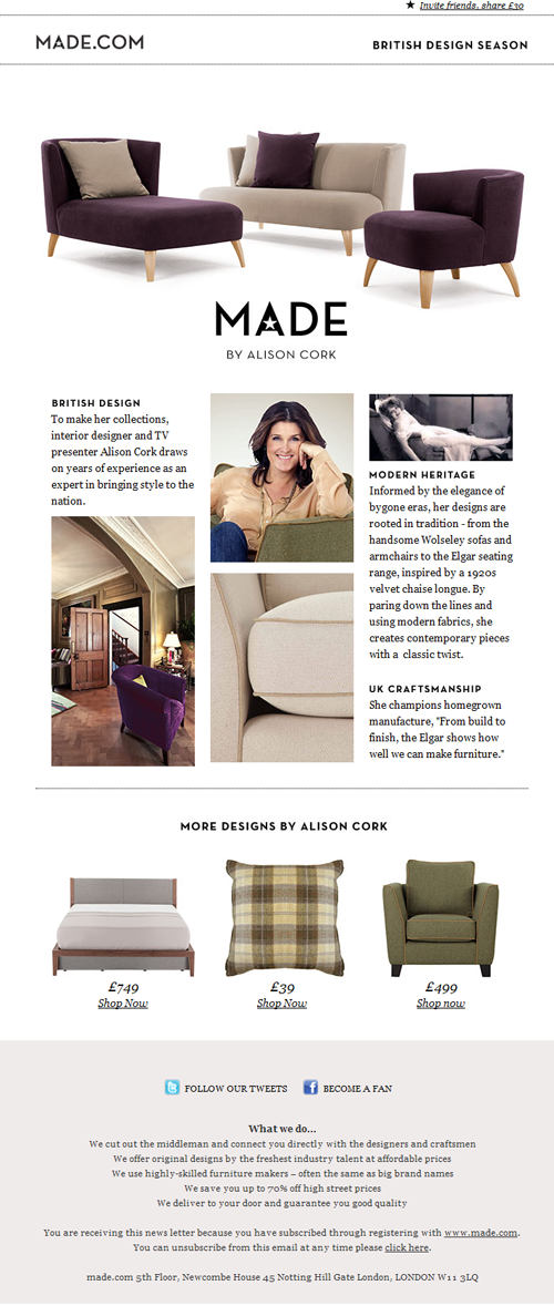 Interior Design Archives Beautiful Email Newsletters Layout