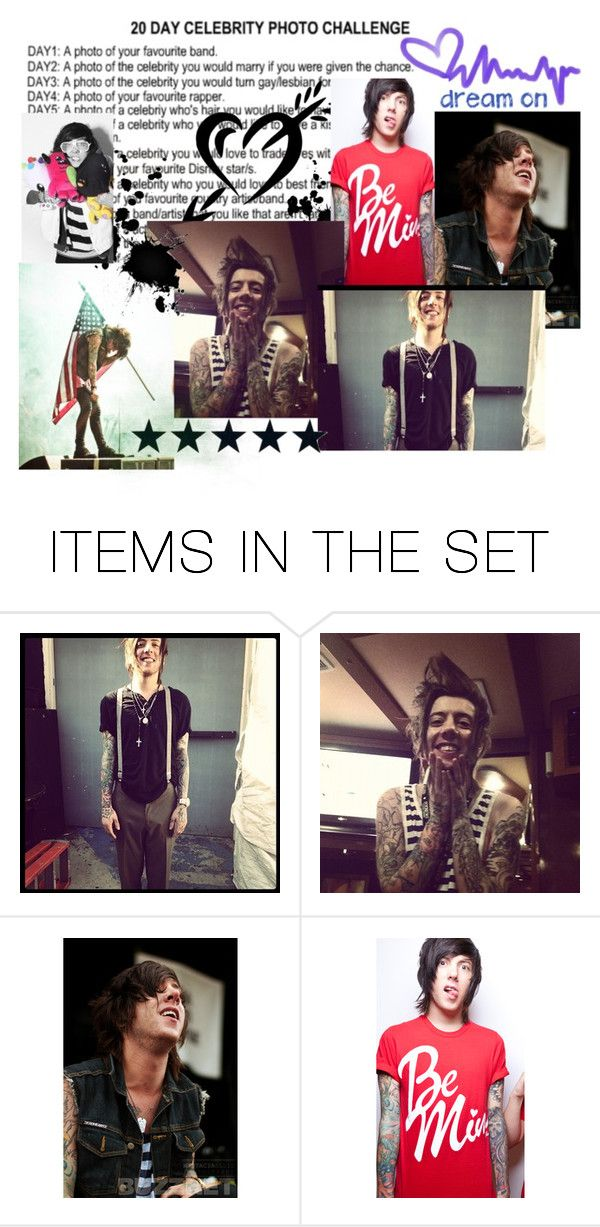 """""""DAY 2 A photo of the celebrity you would marry; David Schmitt from Breathe Carolina"""" by dolphinloverd ❤ liked on Polyvore featuring art"""