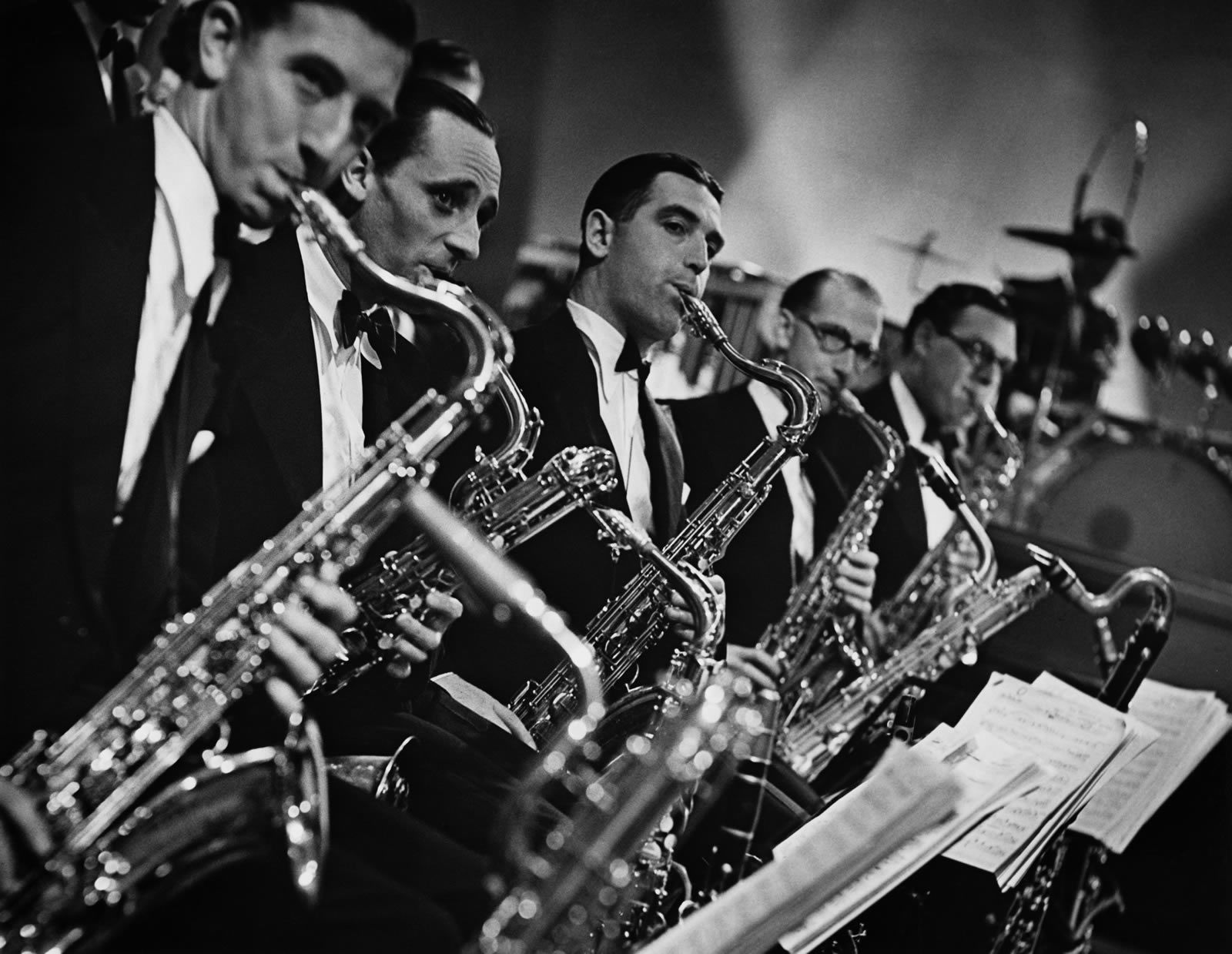 #Sax #section #reed #saxophone #big #band #swing #dance # ...