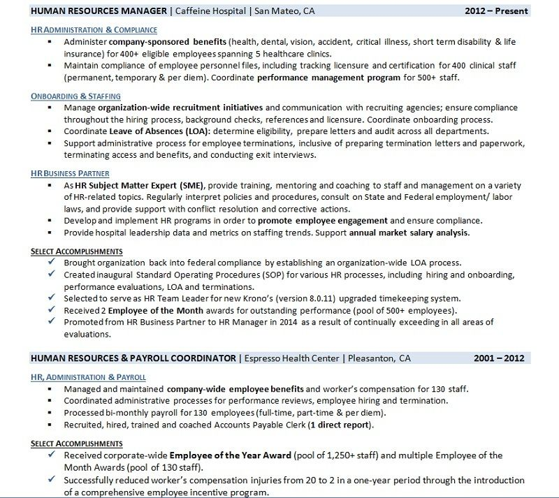 3 Resume Work History Examples (And How to Write Yours