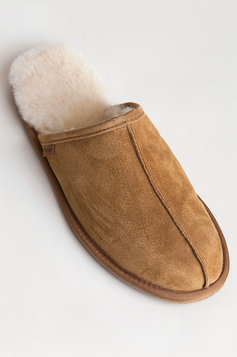 Clic Shearling Lined Scuff Slippers
