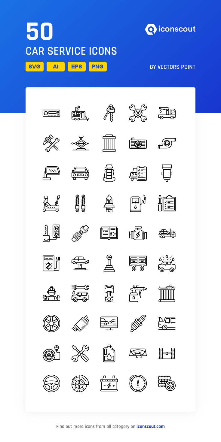 Download Car Service Icon Pack Available In Svg Png Eps Ai Icon Fonts Icon Pack Line Icon Icon