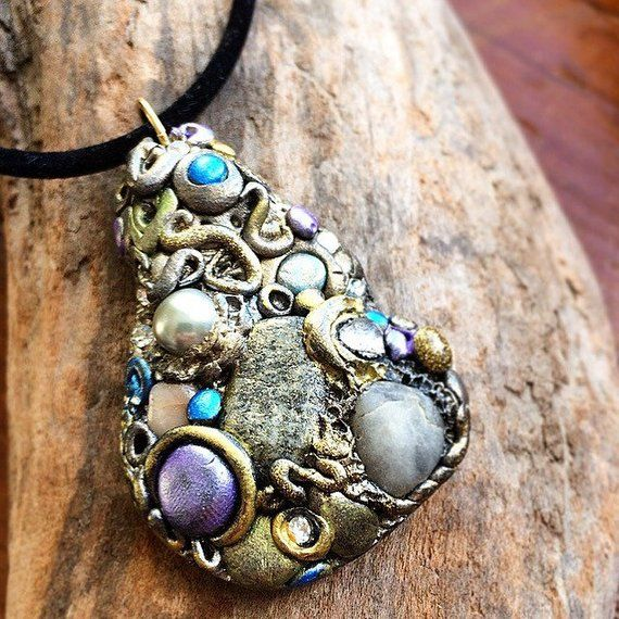 Earthy Beaded Jewelry Necklace His Hers Original