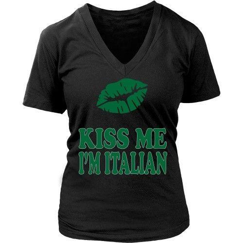 Kiss me I'm Italian [ver2] T-shirt