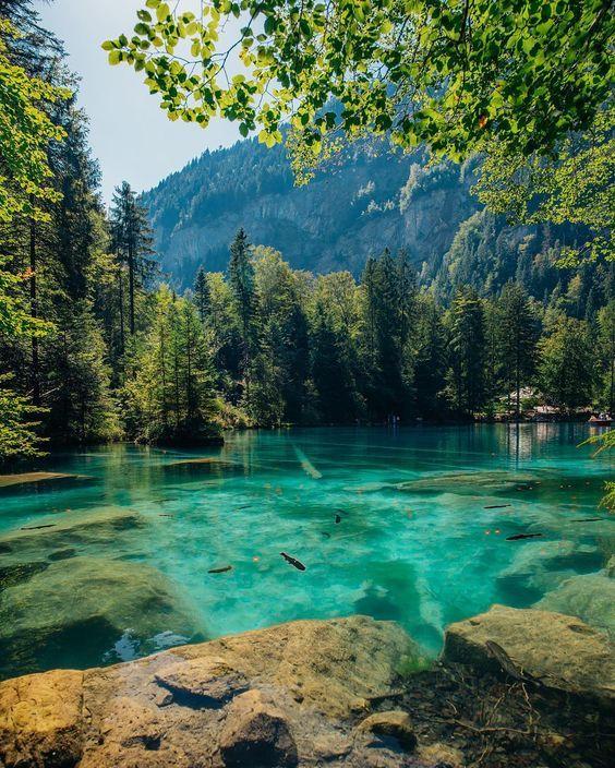Amazing Places To Stay Switzerland: Blausee, Switzerland - Alberto Moya