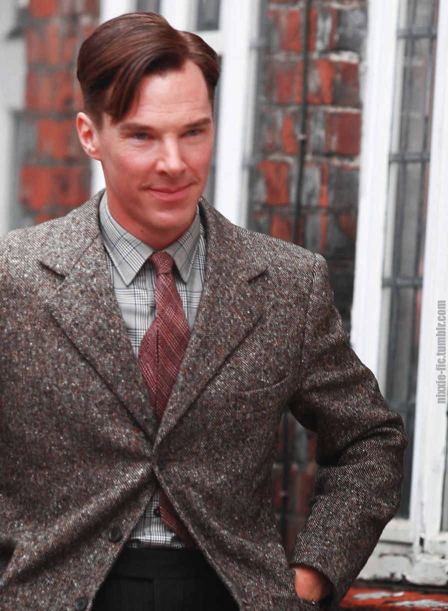 New Edit of Benedict on the set of The Imitation Game