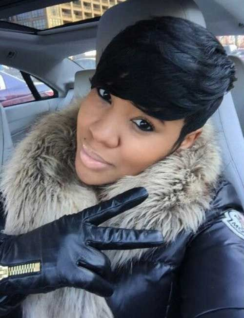 2016 Black Hairstyles two tone blonde wavy hairstyles short black hairstyles Black Women Short Hairstyle 2016