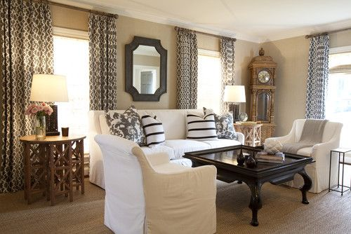 Best Casual Living Room Made Elegant With Some Black Detail 400 x 300
