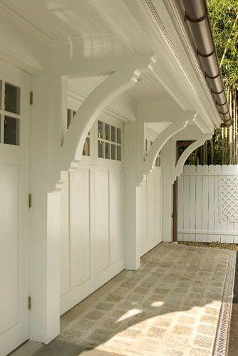Custom brackets around garage door & Selecting a Garage Door - Made Easy   Garage doors Doors and ...