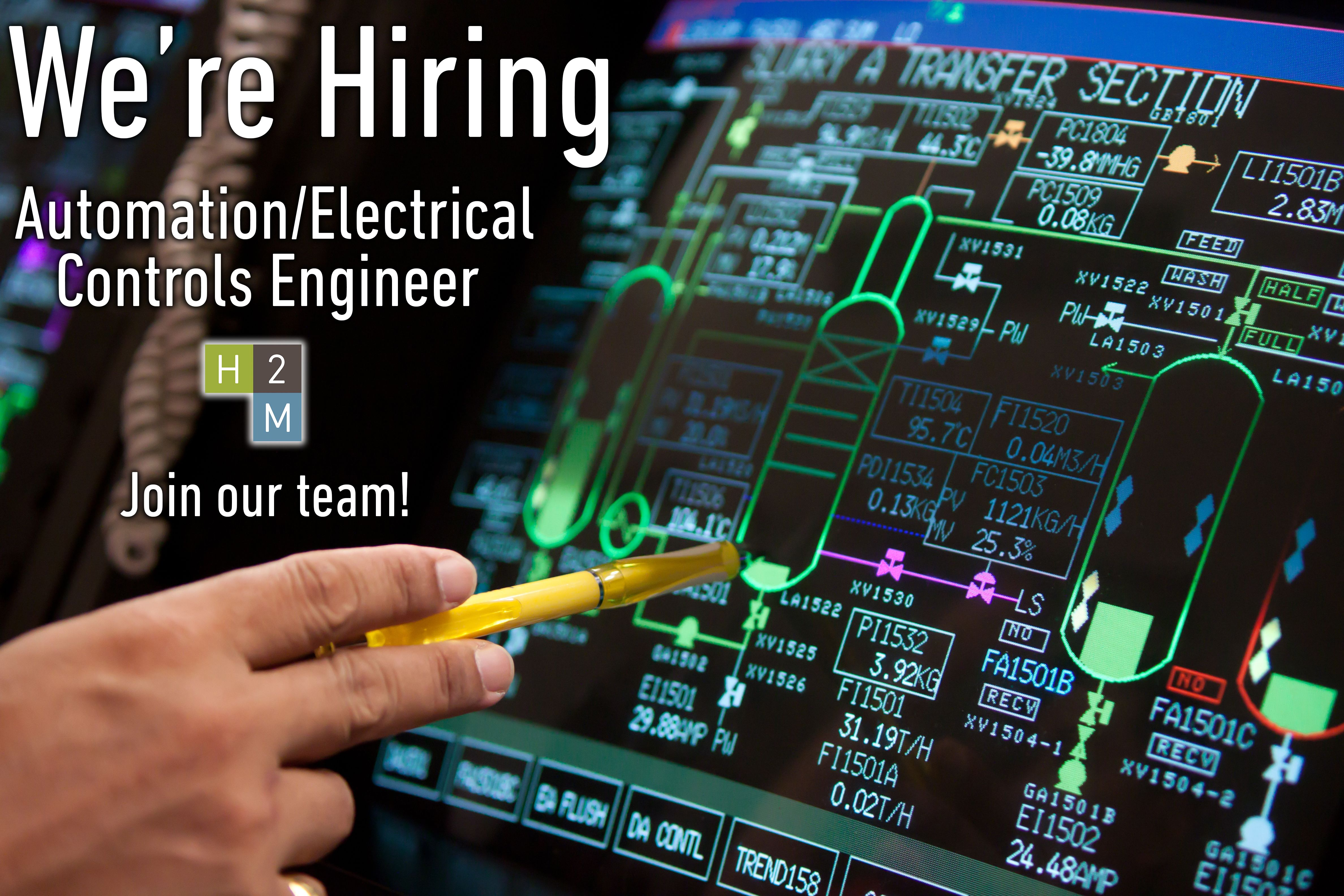 WeRe Hiring Automation Electrical Controls Engineer Location