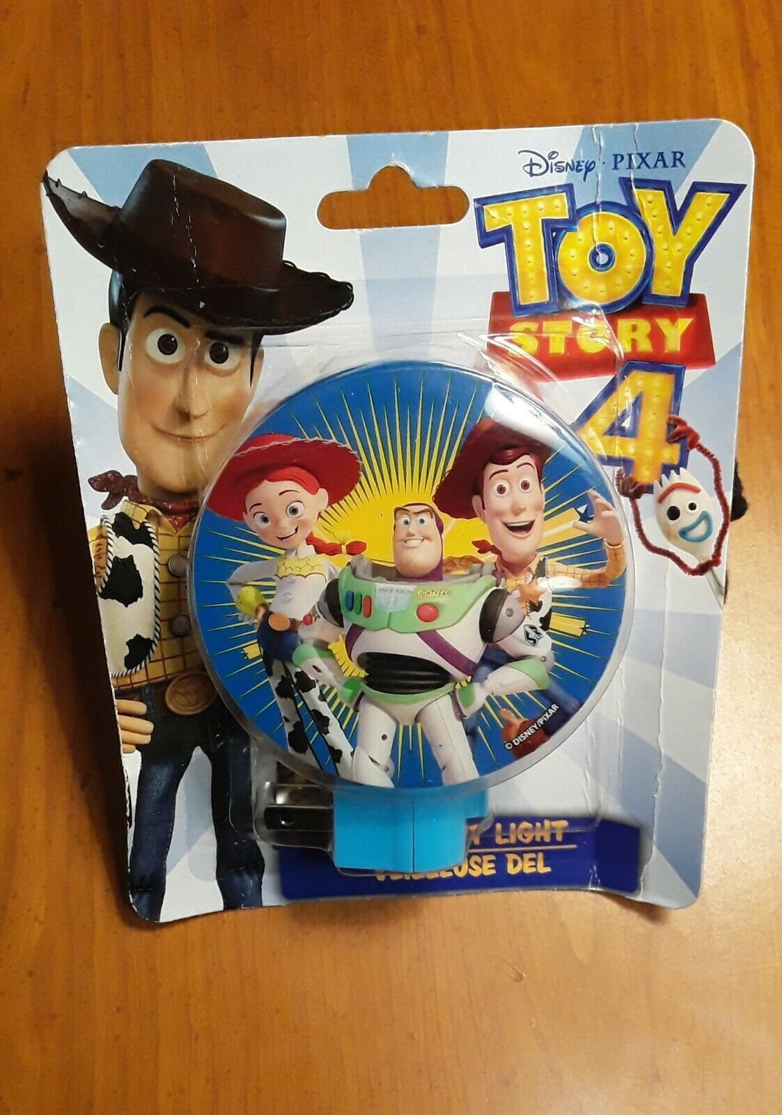 Disney Pixar Toy Story 4 LED Night Light Woody Buzz Lightyear Jessie NEW