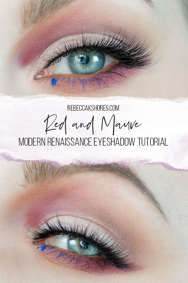 Modern Renaissance Eyeshadow Tutorial by Makeup Artist