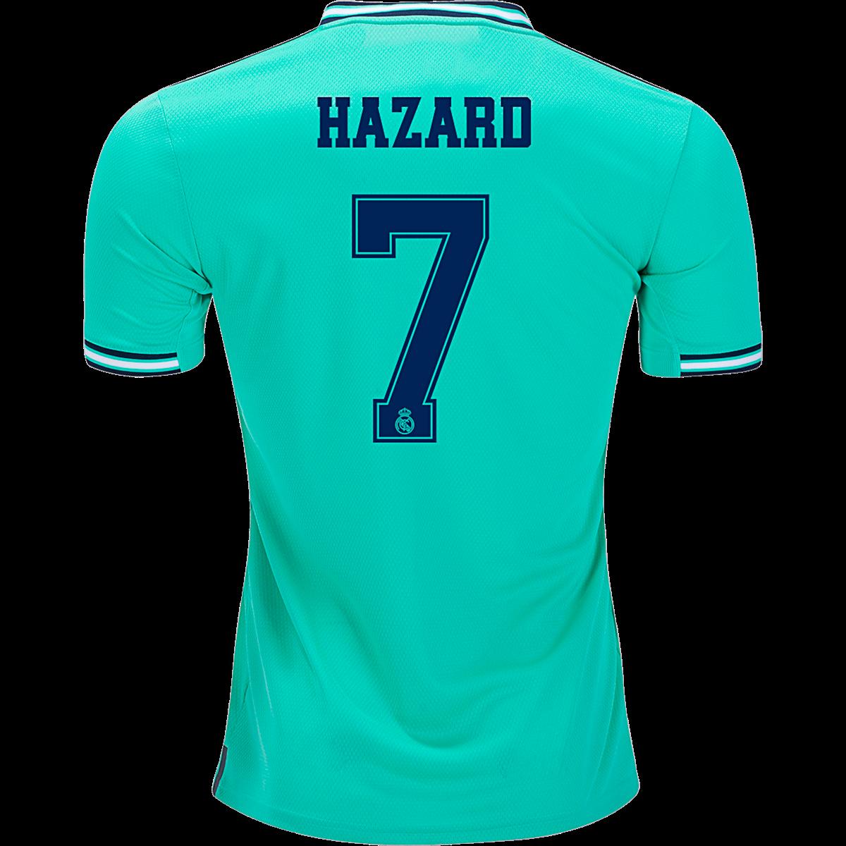 Adidas Eden Hazard Real Madrid Third Jersey 19 20 2xl In 2020 Hazard Real Madrid Eden Hazard Real Madrid