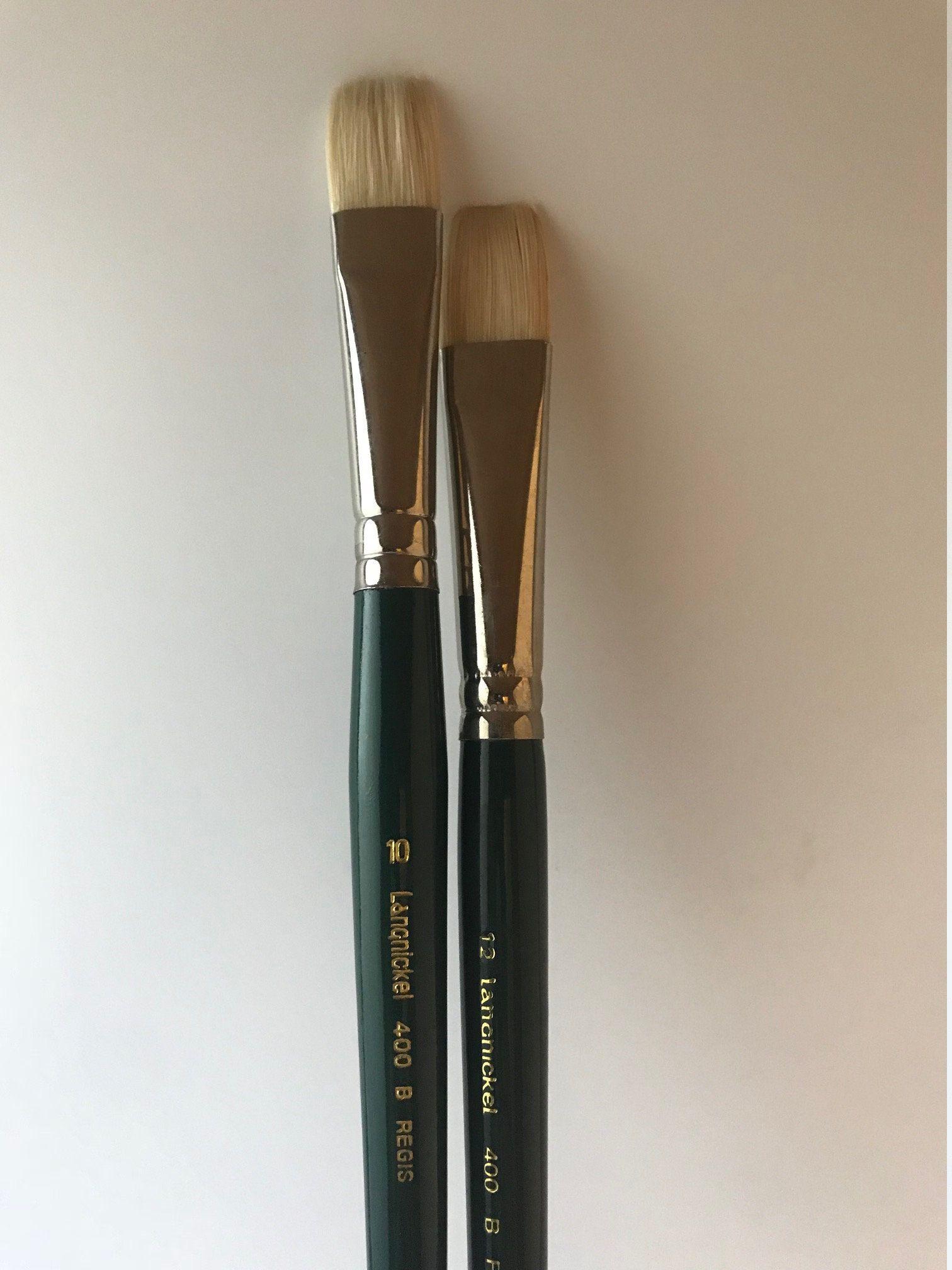 Regis Bristle Brush Set Langnickel 400b Artist Pail Brushes Oil Paint Brushes Acrylic Paint Brushes F Oil Paint Brushes Acrylic Paint Brushes Artist Gifts