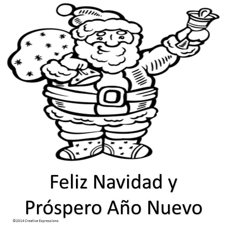 Free Spanish Christmas Cards Santa Coloring Pages Crayola Coloring Pages Coloring Pages
