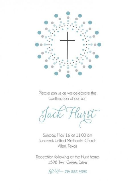 Party Invitations  First Communion Invitation for Boy with White - sample white paper