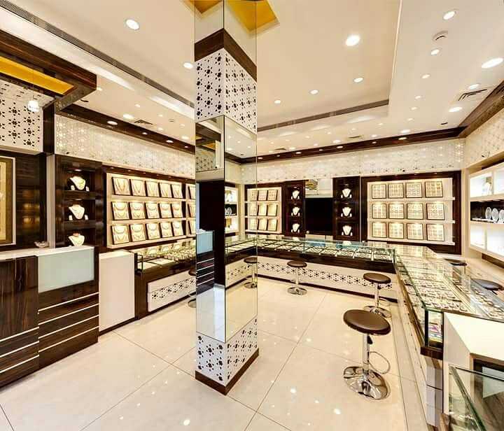 Pin by sanjay charate on Jewellery shop interiors done by ...