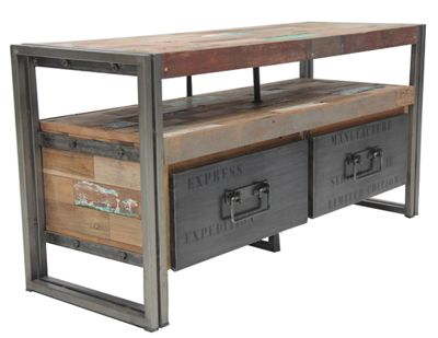 TV Entertainment Console, Reclaimed Boat WoodImpact Imports - Boise and  Philadelphia: reclaimed teak, - TV Entertainment Console, Reclaimed Boat WoodImpact Imports