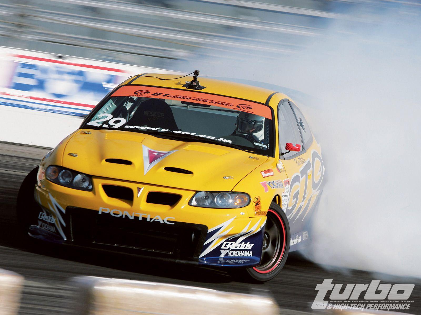 Rhys Millen drifting. This is the car I want, GTO drift car.   The ...