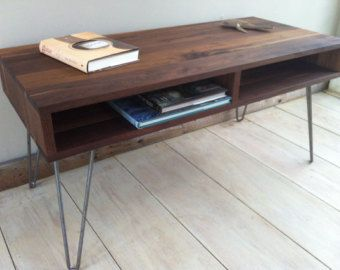 Mid Century Modern On Etsy A Global Handmade And Vintage Marketplace Mid Century Modern Coffee Table Coffee Table Living Room Decor Fireplace