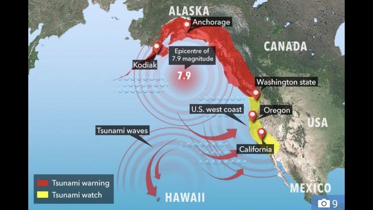 Alaska Major Cities Map%0A Alaska Shallow     Earthquake