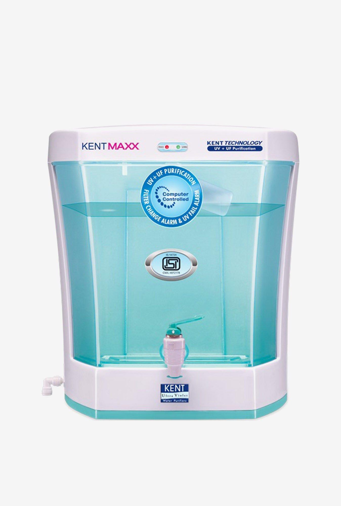 Buy Kent Maxx 7L UV + UF Membrane Water Purifier (White