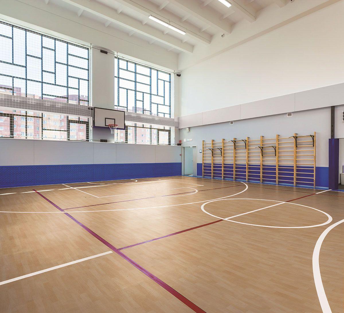 Sports Flooring Indoor Basketball Court In 2020 Commercial Flooring Indoor Basketball Court Gym Flooring