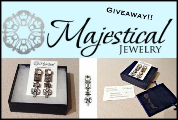 Enter to win a FREE pair of Crystal Earrings and a $20 gift card to Majestical Jewelry!!! Spread the Word!!   Click through to blog post to enter