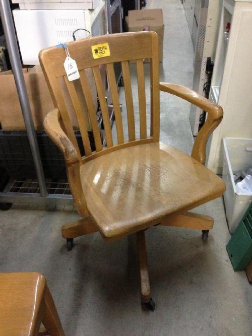 Wooden Swivel Desk Chair Black Wooden Swivel Desk Chair
