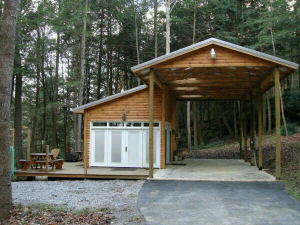 Motorhome dock cottage plans pinterest garage for Rv buildings garages