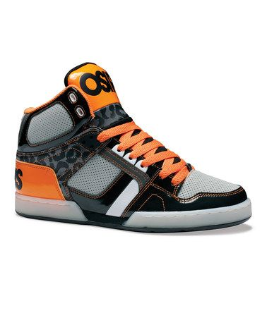 1a5fe36e93 Take a look at this Black   Orange NYC 83 Hi-Top Sneaker - Kids by Osiris  Shoes on  zulily today!