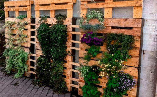 Hervorragend Europaletten Gartengestaltung Mit Wenig Geld Günstige Gartenideen