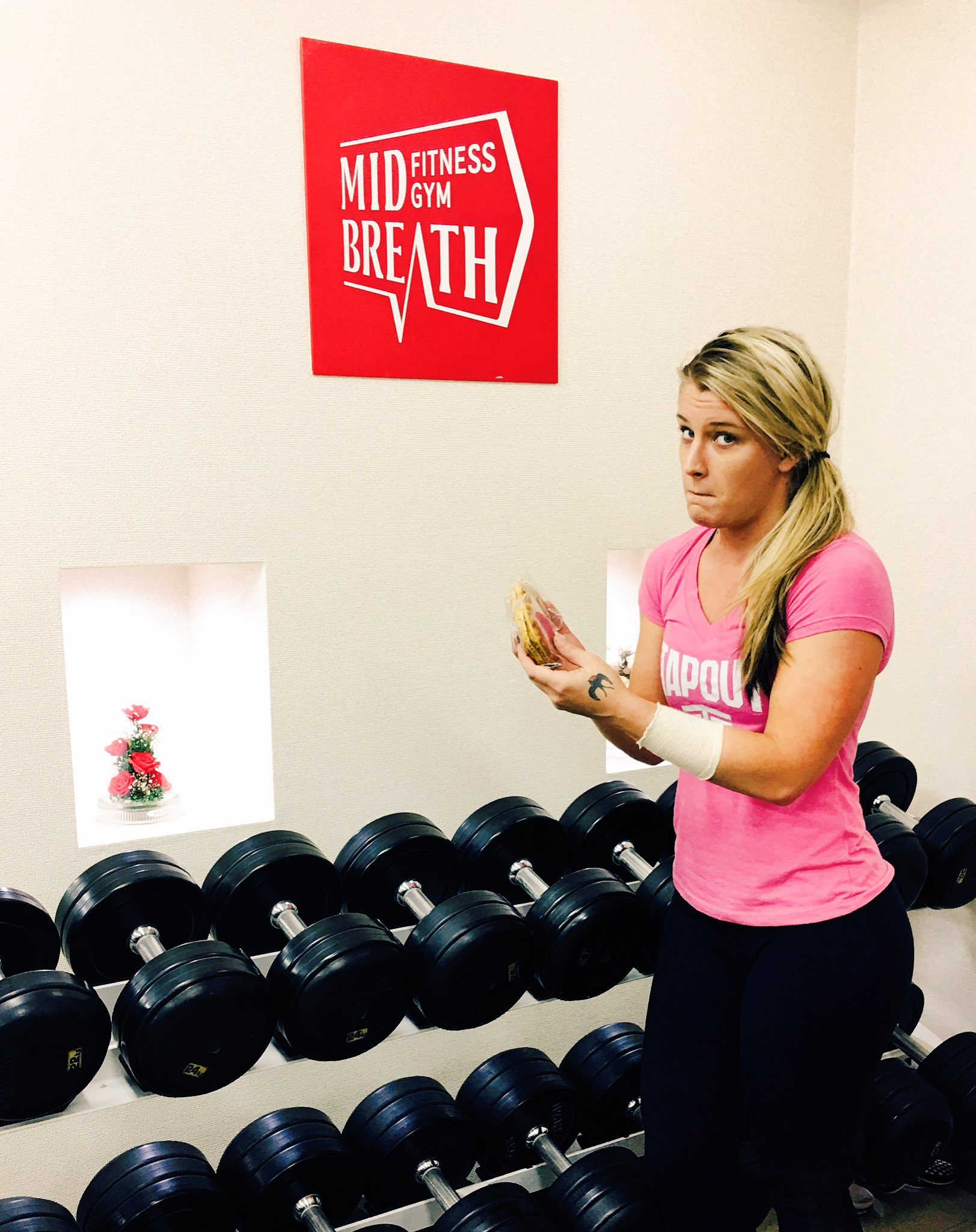 Pin By Miss On Toni Storm Gym Workouts Storm Gym