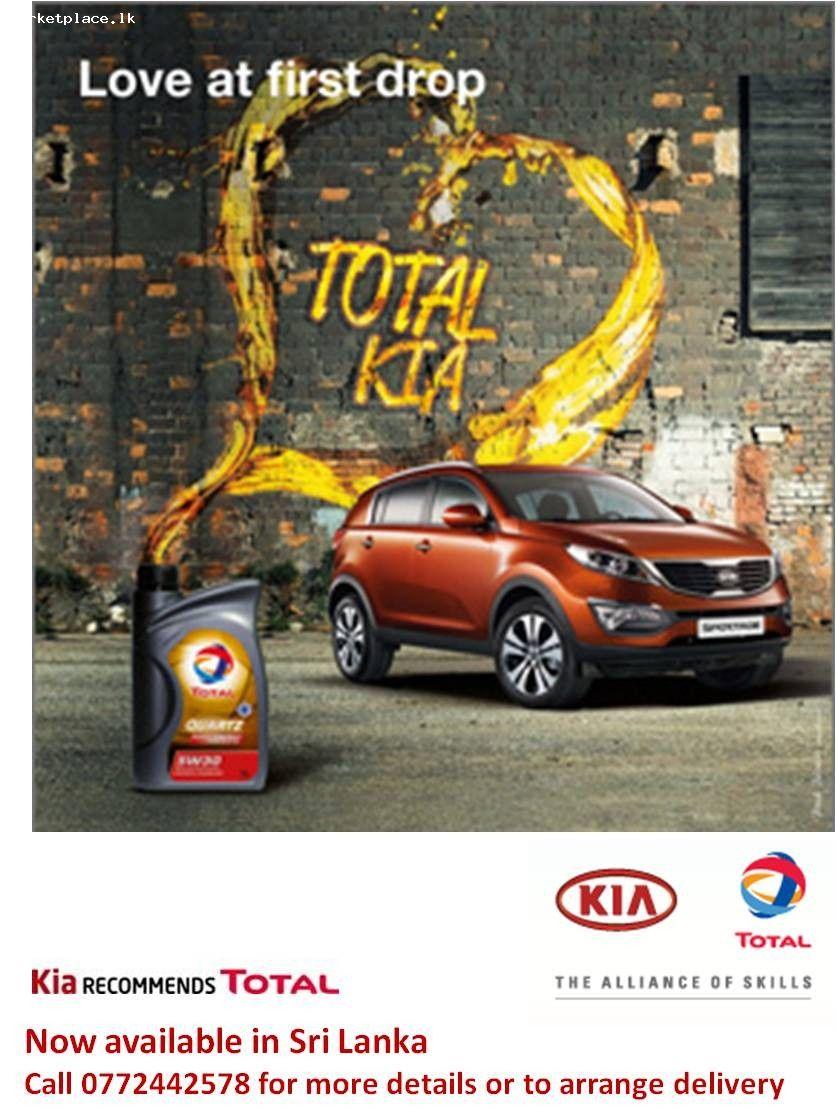 Car Oil Advertising