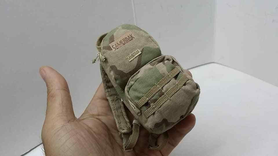 """1//6 Scale Soldier Military Desert Backpack Rucksack For 12/"""" Male Action Figure"""