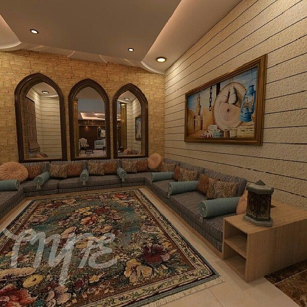 مجلس عربي بهوية مغربية من تصميمي Padgram Living Room Design Decor Elegant Living Room Decor Arabic Decor