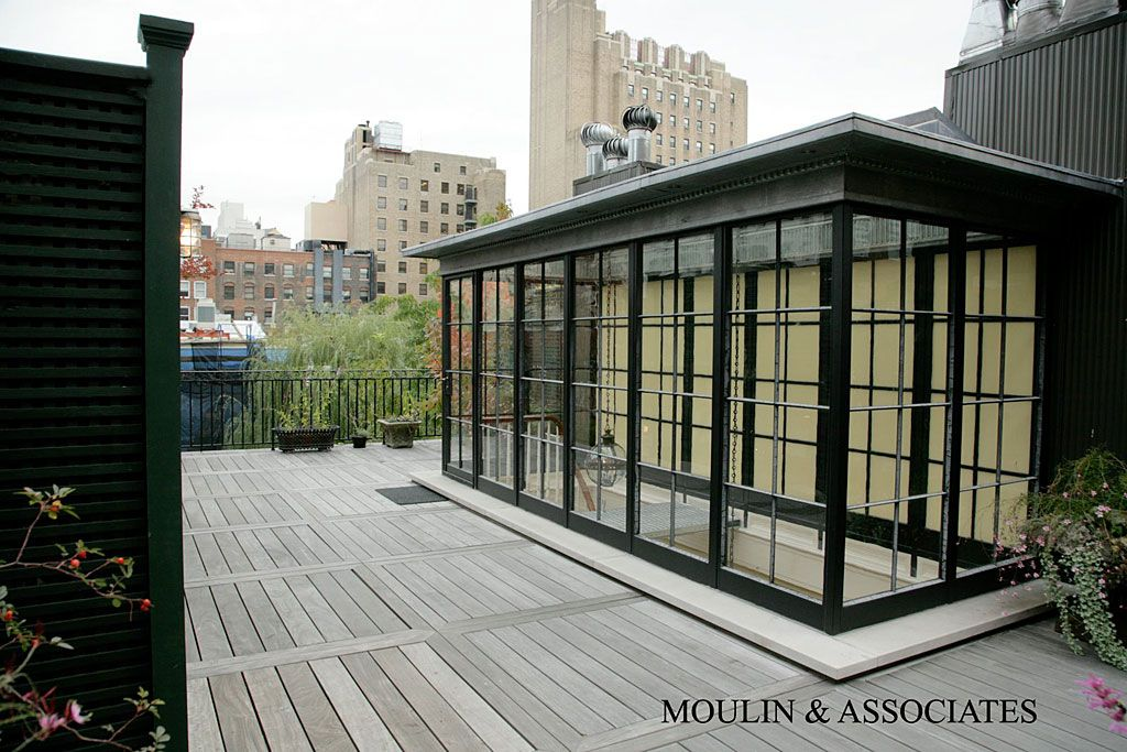Best Landscaped Roof With Glass Enclosed Stair Bulkhead With 400 x 300