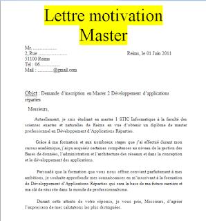 10 Exemples De Lettres De Motivation Pour Master Pdf Et Word Cours Genie Civ Lettre De Motivation Master Lettre De Motivation Exemple De Lettre De Motivation